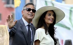 george clooney wedding george clooney and amal alamuddin s wedding in pictures telegraph