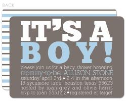 design baby boy shower invitations