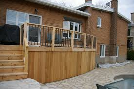 architecture cozy home decking and fencing ideas baldoa home