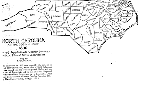 Map Of South Carolina Counties The Bozeman Adair Family