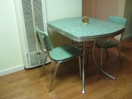 1950s kitchen furniture retro chrome kitchen table and chairs interior desertrockenergy