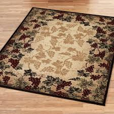 Kitchen Accent Rugs Decorating Pretty Chinese Style Kitchen Rugs In Circle Shape With