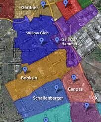 san jose unified map san jose unified district map