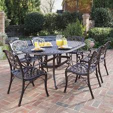 Patio Table Chairs by Outdoor Metal Furniture Home Design