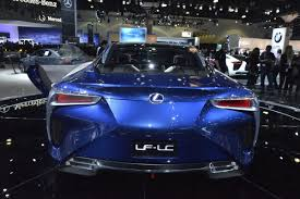 lexus lf lc lexus lf lc and lf cc on display at the la auto show which one do
