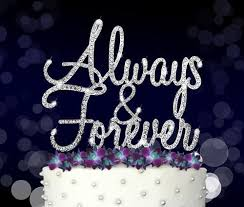 bling cake toppers wedding cake toppers partyplanhq