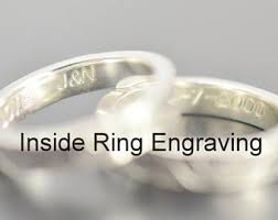 Personalized Engraved Rings Ring Engraving