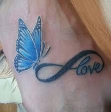 butterfly infinity symbol from in las vegas