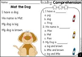 free kindergarten reading comprehension and questions by teaching