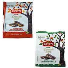 gefen kosher gefen chocolate bark crafted kosher