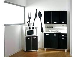 buffet cuisine noir buffet cuisine noir meuble de cuisine noir et blanc buffet de