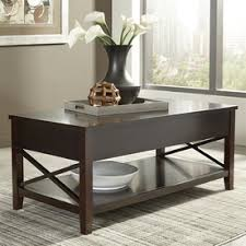 Gray Wood Coffee Table Shop Coffee Tables At Lowes Com