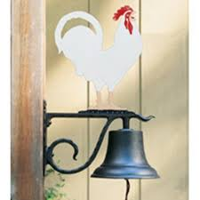whitehall products large bell with pheasant ornament like
