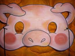como hacer mascaras en forma de rosa cómo hacer una máscara de cerdito 13 pasos uncomo