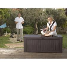 Backyard Storage Containers Outdoor Storage Containers Modern Outdoor With Brown Wooden