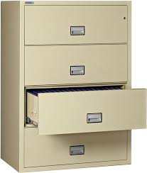 4 Drawer Lateral Filing Cabinet File Cabinet Ideas Model Metallic Handle Materials Contemporary