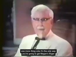 One More Thing Meme - colonel sanders terms youtube automatic caption fail know your meme