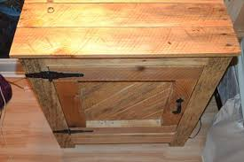 modern diy diy pallet nightstand and bedside table hampedia