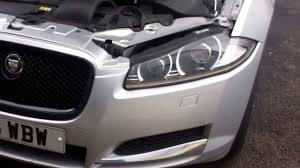 jaguar front how to upgrade jaguar xf front bumper to xfr s style youtube