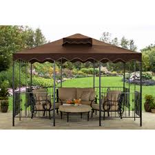 Portable Gazebo Walmart by Better Homes And Gardens And This Castleman Garden Pavilion Gazebo