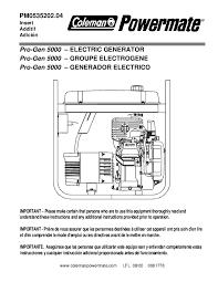 wiring diagram for coleman powermate generator wiring free