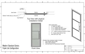 Standard Interior Door Size Interior Oak Frame Lining Set Suits All Standard Sizes Standard