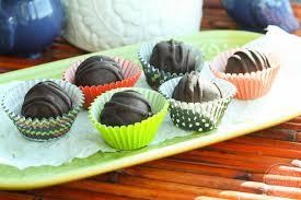 halloween chocolate balls avocado peanut butter balls eat chic chicago eat chic chicago