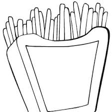 appetizing cheeseburger junk food coloring page appetizing