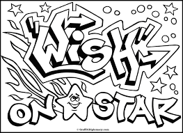 graffiti coloring pages bestofcoloring