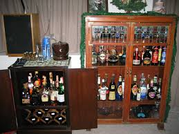 Liquor Cabinet Furniture Awesome Wooden Locking Liquor Cabinet With Glass Stove