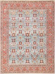 Persian Oriental Rugs by Light Blue Antique Persian Tabriz Oriental Rug 48820 By Nazmiyal