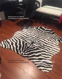 Leopard Cowhide Rug Aliexpress Com Buy 3 Piece Mat Classic Safari Zebra Carpet