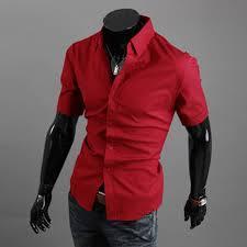 mens luxury fashion slim fit stylish casual short sleeve casual
