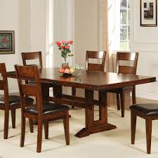 Shaker Dining Room Chairs Dining Room Brown Wood Dining Table By Paula Deen Furniture With