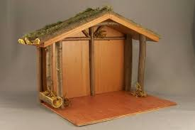 nativity stable plans plans diy free folding adirondack