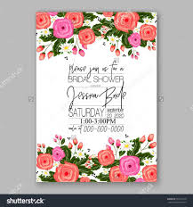Gift Card Wedding Shower Invitation Wording Wedding Invitation Printable Template With Floral Wreath Or