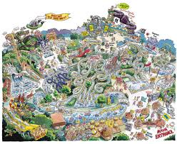 Six Flags New England Park Map The Tarp Report 10 Best Waterparks Near New York City