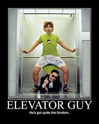 Gangnam Style Meme - gangnam style elevator guy by onikage108 on deviantart