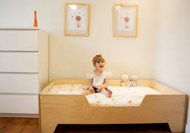 homemade toddler bed diy projects diy toddler bed with birch plywood