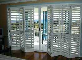 Plantation Shutters On Sliding Patio Doors Shutters On Sliding Patio Doors Thehappygardener Info