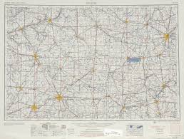 Topographic Map United States by Muncie Topographic Map Sheet United States 1953 Full Size