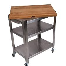 Kitchen Work Tables Islands Butcher Block Stainless Steel Kitchen Island Classic French Style
