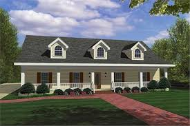 country home plans with front porch country house plans home design dp 1851p 18426