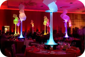 Sweet 16 Party Centerpieces For Tables by Led Centerpieces Sweetsixteens Sweet Sixteens Pinterest