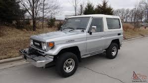 toyota diesel toyota land cruiser bj74 lx turbo diesel auto rust free power