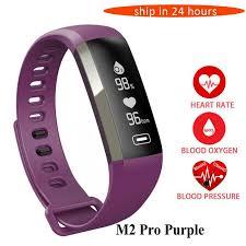 blood bracelet images Smart watch heart rate monitor blood pressure fitness bracelet jpg