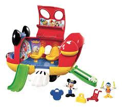 mickey mouse club house mickey u0027s jet amazon co uk toys u0026 games