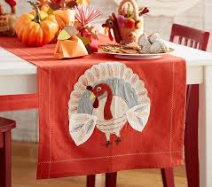 thanksgiving runner pottery barn