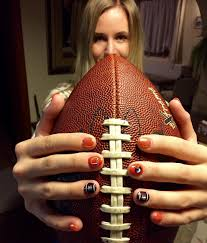 18 best nail art designs for super bowl 2016