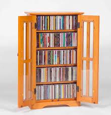 wood cd dvd cabinet 2 door media wall mount cabinet w glass doors